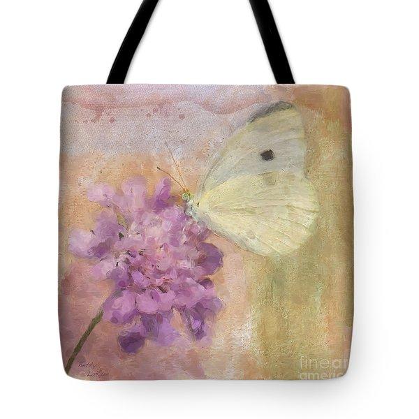 Wings Of Beauty Tote Bag by Betty LaRue