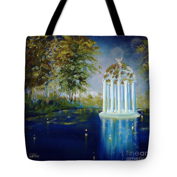 Wings Of Love Gazeebo Tote Bag by David Kacey