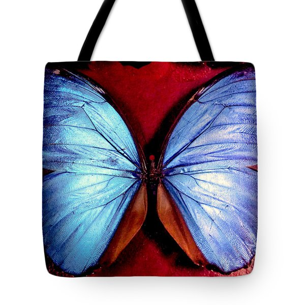 Wings Of Nature Tote Bag by Karen Wiles