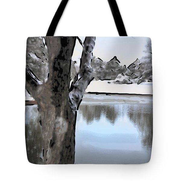 Winter Beauty Tote Bag by Betty LaRue