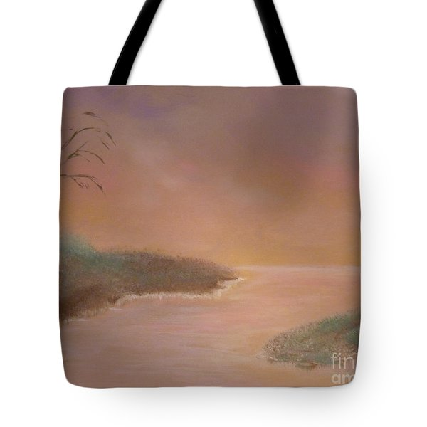 Winter Dawn Tote Bag by Alys Caviness-Gober