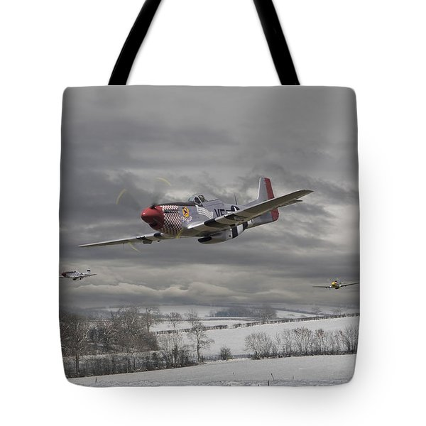 Winter Freedom Tote Bag by Pat Speirs