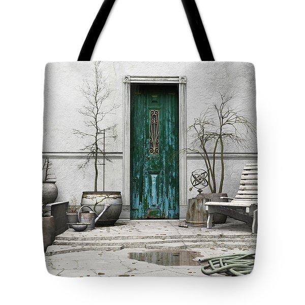 Winter Garden Tote Bag by Cynthia Decker