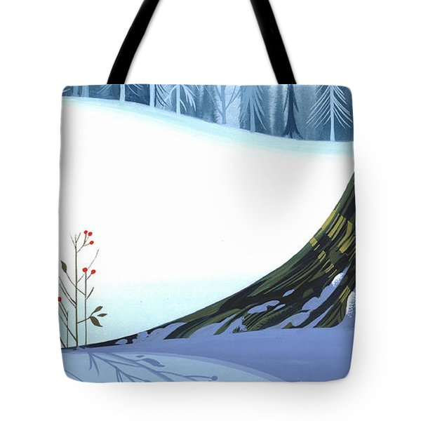 Winter Grace Tote Bag by Michael Humphries