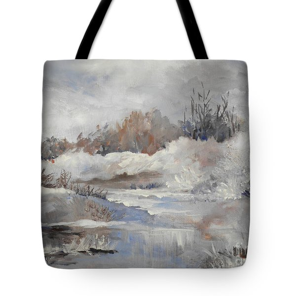 Winter Impressions Tote Bag by Suzanne Schaefer