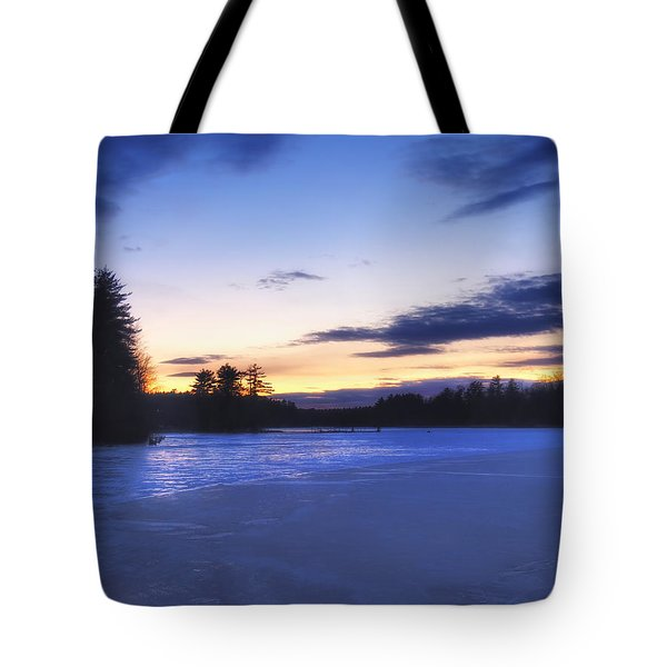 Winter In New England Tote Bag by Joann Vitali