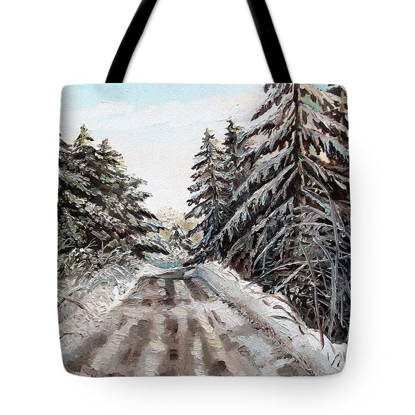 Winter In The Boons Tote Bag by Shana Rowe Jackson
