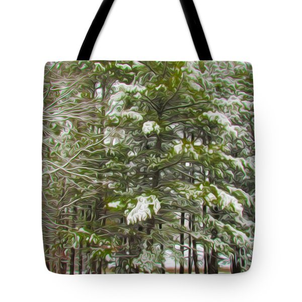 Winter Landscapes Tote Bag by Lanjee Chee