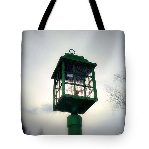 Winter Light Tote Bag by J Allen