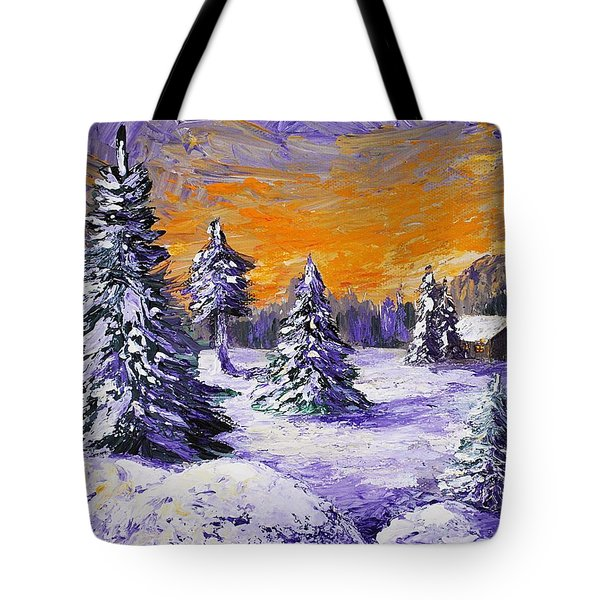Winter Outlook Tote Bag by Anastasiya Malakhova