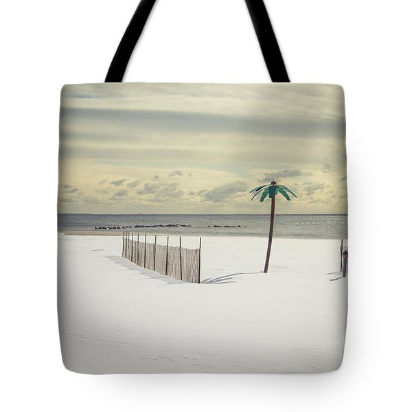 Winter Paradise Tote Bag by Evelina Kremsdorf
