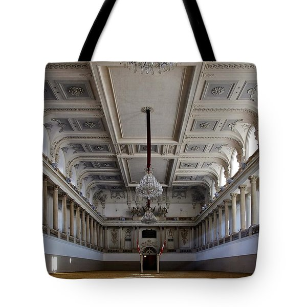 Winter Riding Stable Tote Bag by Mountain Dreams