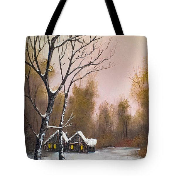 Winter Solace Tote Bag by C Steele