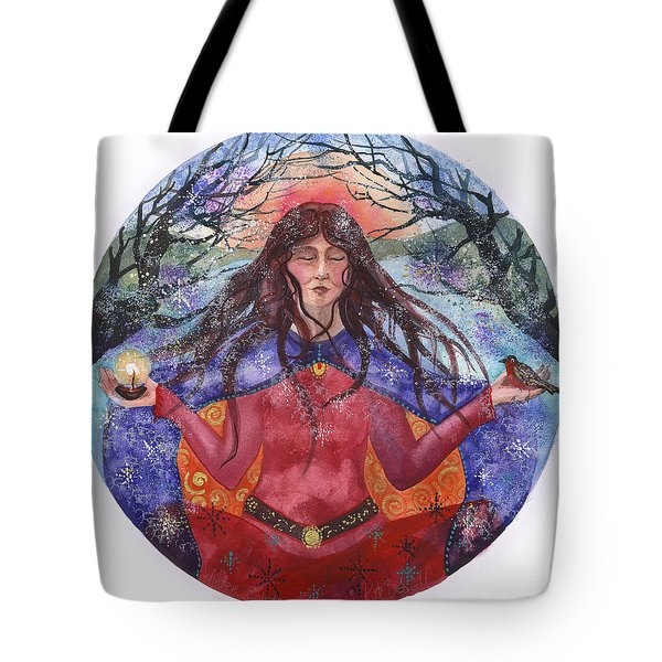 Winter Solstice Tote Bag by Kate Bedell