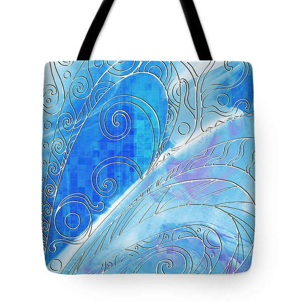 Winter Solstice  Tote Bag by Shawna Rowe