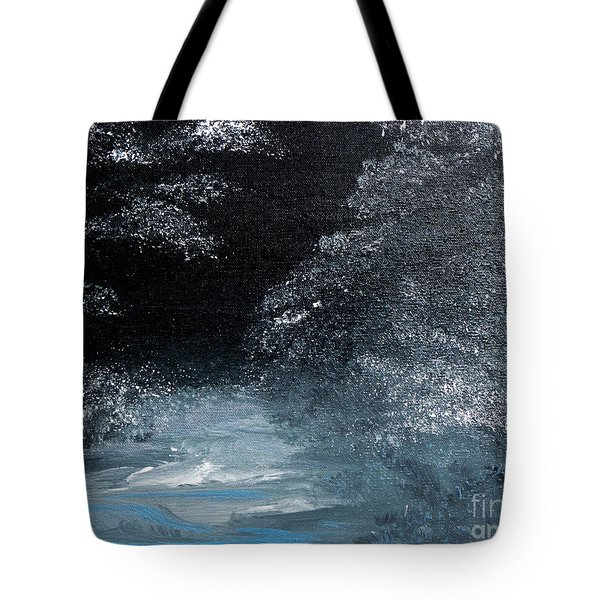 Winter Sparklers Tote Bag by Alys Caviness-Gober