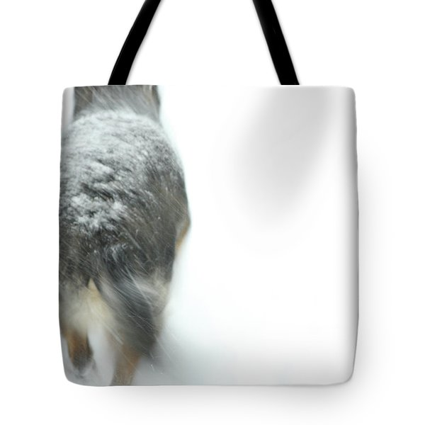 Winter Traveler Tote Bag by Karol Livote