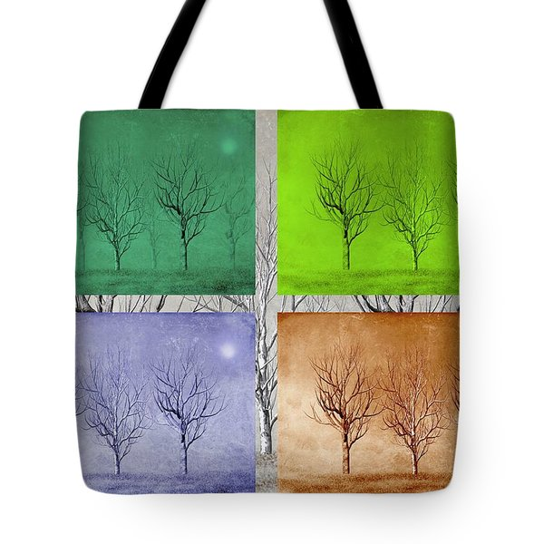 Winter Trees  Tote Bag by David Dehner