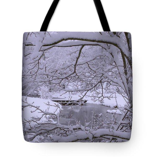 Winter Wonderland 2 Tote Bag by Mike McGlothlen