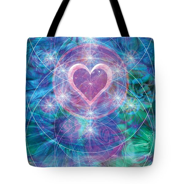 Winterheart Tote Bag by Alixandra Mullins