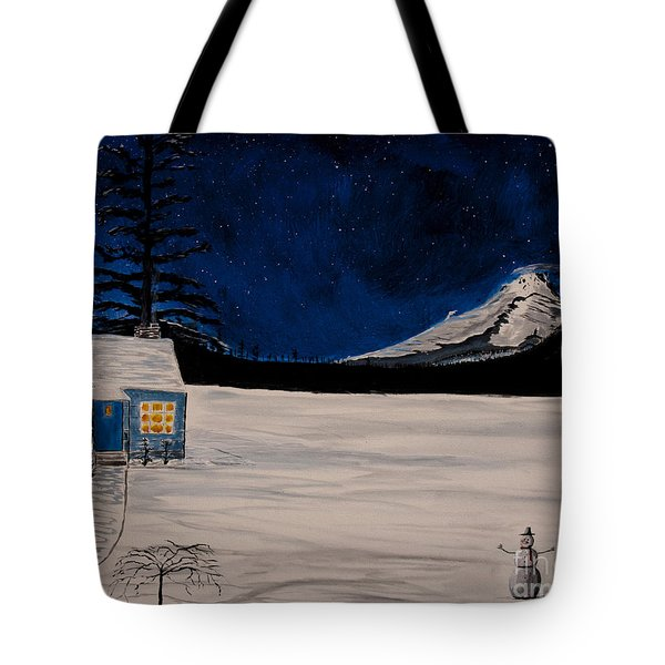 Winter's Eve Tote Bag by Ian Donley