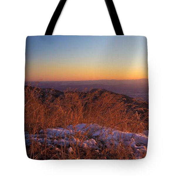 Winter's Splendor Tote Bag by Heidi Smith