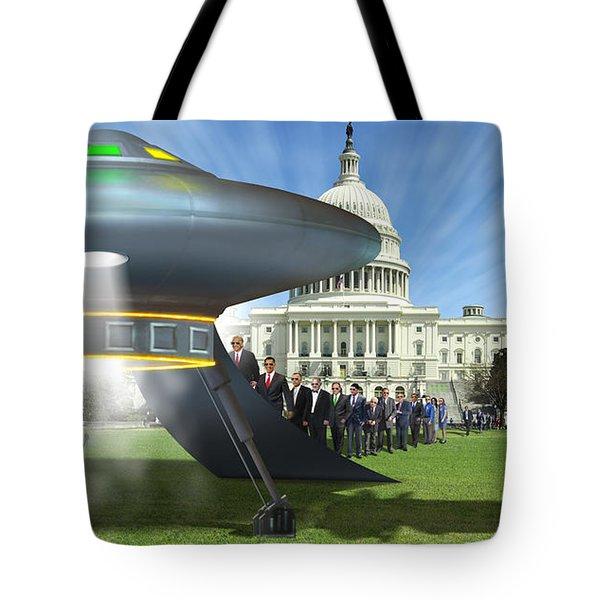 Wip - Washington Field Trip Tote Bag by Mike McGlothlen