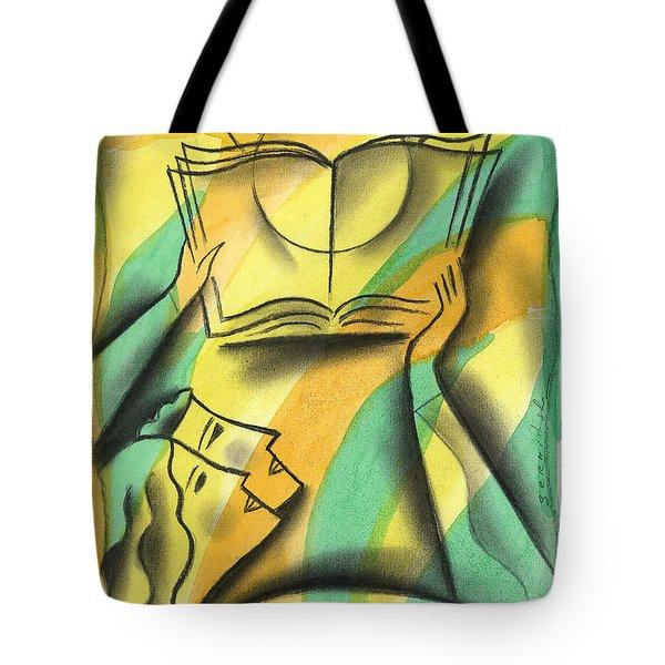 Wisdom Tote Bag by Leon Zernitsky