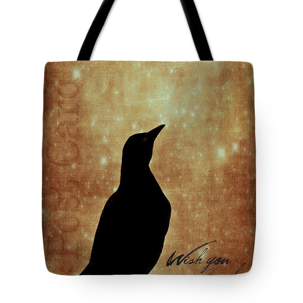 Wish You Were Here 1 Tote Bag by Carol Leigh