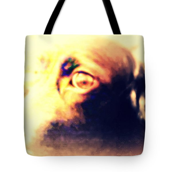 wish you were human Tote Bag by Hilde Widerberg