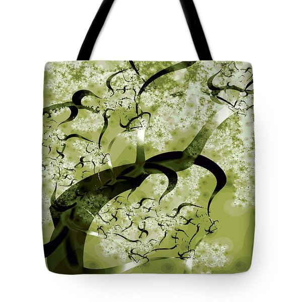 Wishing Tree Tote Bag by Anastasiya Malakhova