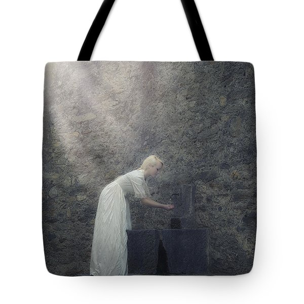 Wishing Well Tote Bag by Joana Kruse