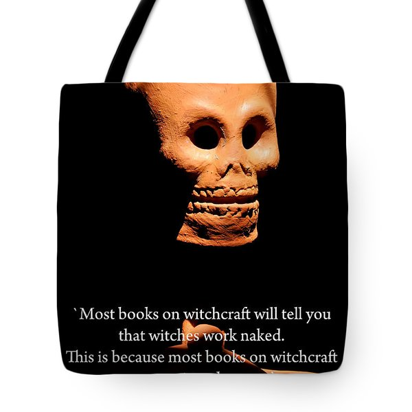 Witches Tote Bag by David Lawrence