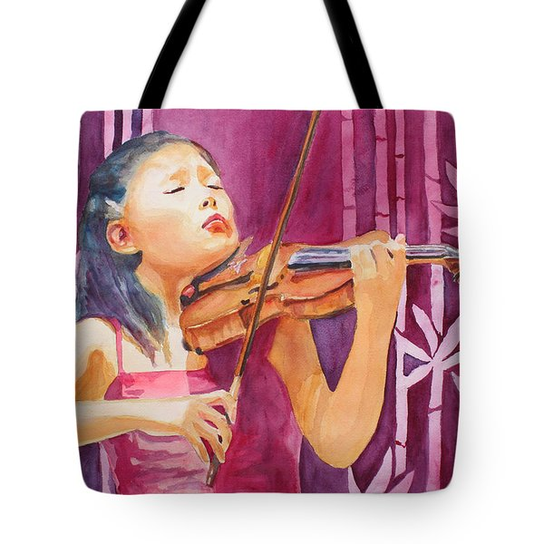 With Feeling Tote Bag by Jenny Armitage