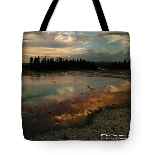 With Little More Tote Bag by Jeff Swan