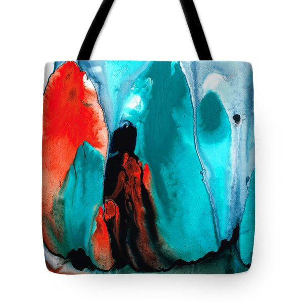 With You Always - Spiritual Painting Art Tote Bag by Sharon Cummings