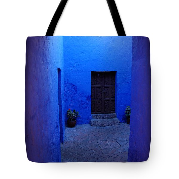 Within Bue Walls Tote Bag by RicardMN Photography