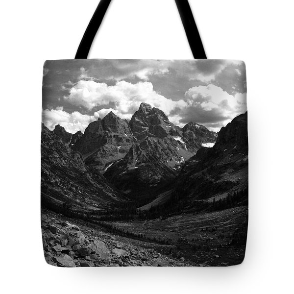 Within The North Fork Of Cascade Canyon Tote Bag by Raymond Salani III