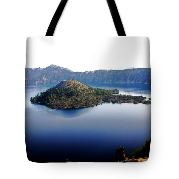 Wizard Island 1 Tote Bag by Marty Koch