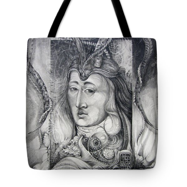 Wizard Of Bogomil's Island - The Fomorii Conjurer Tote Bag by Otto Rapp