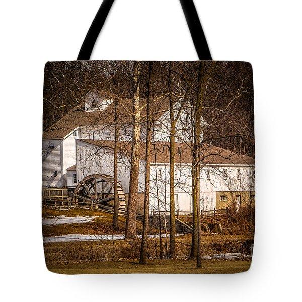 Wolcott Mill Tote Bag by Grace Grogan