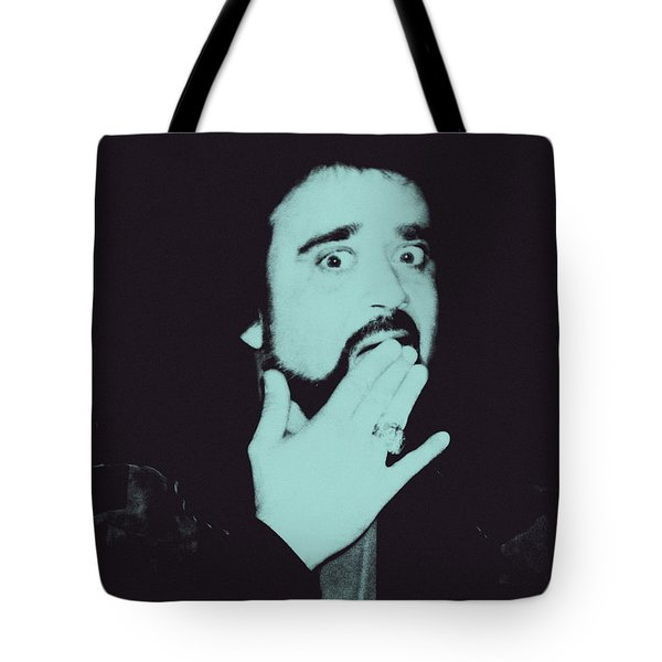 Wolfman Jack Tote Bag by Bob Orsillo