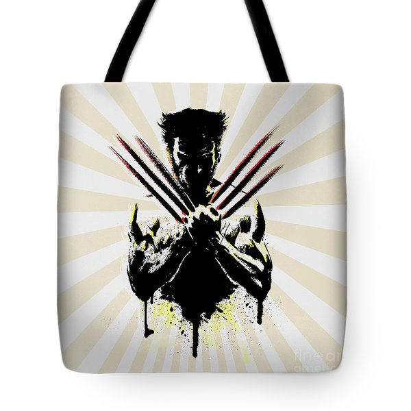 Wolverine Tote Bag by Mark Ashkenazi