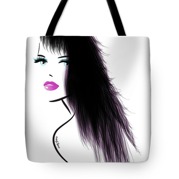 Woman 5 Tote Bag by Cheryl Young
