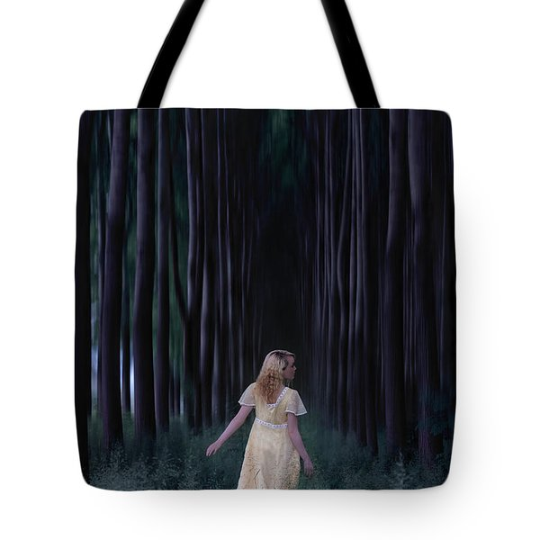 Woman In Forest Tote Bag by Joana Kruse