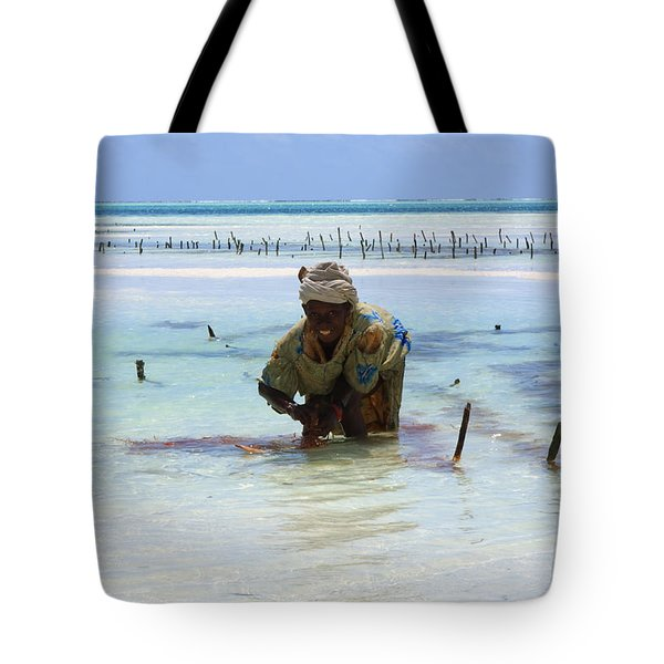 Women Of The Sea Tote Bag by Aidan Moran