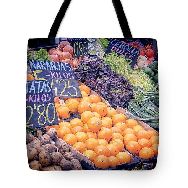 Wonderful In Any Language Tote Bag by Joan Carroll
