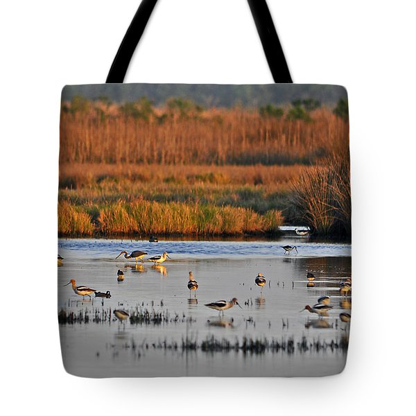 Wonderful Wetlands Tote Bag by Al Powell Photography USA