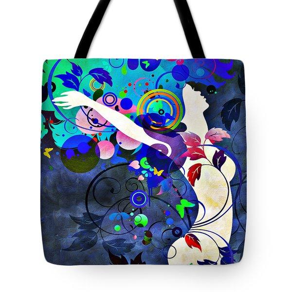 Wondrous Night Tote Bag by Angelina Vick