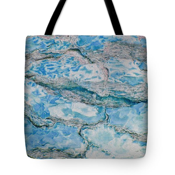 Wood To Water Tote Bag by Stephanie Grant